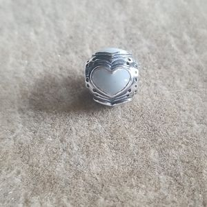 Pandora sterling silver with enamel bead